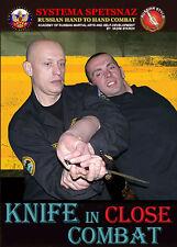 SELF-DEFENSE DVD - Knife in Close Combat, Systema Spetsnaz - Russian Martial Art