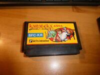 GAME/JEU FAMICOM NINTENDO NES JAPANESE KARATEKA SFC KR JAPAN ** #089