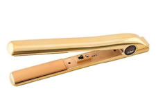 CHI Elite Gorgeous Gold Flat Iron / Hair Straightener ULTRA RARE DESIGN! NIB!