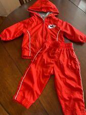 Nfl Kansas City Chiefs 12mo track suit