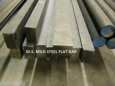 """MS MILD STEEL 3/8 x 3/4 x 12"""" FLAT BAR STOCK FOR CNC MILL MILLING MACHINE SHOP"""