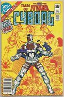 The New Teen Titans #1 : Origin Story of Cyborg : DC Comics : June 1982