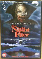 The Night Flier DVD 1997 Stephen King Horror starring Miguel Ferrer Rare OOP