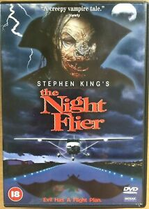 The Night Flier DVD 1997 Stephen King Horror Cast Miguel Ferrer Rare Oop