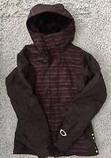 OAKLEY Shell Hooded Snowboard Ski Jacket Snow Winter Women's XS