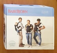 BabyBjörn baby carrier, 3.5-15 kg, black, excellent condition