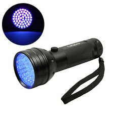 Liqoo Flashlight Blacklight Led Torch 51 LEDs UV Hand Lamp Light Stain Tester