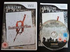 Resident Evil Zero - Nintendo Wii / Wii U - PAL - Free Fast P&P!