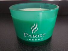 New but no box PARKS Moods Aromatherapy Scented Candle - Green- HARMONY 3 wick