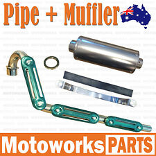 Exhaust Pipe + Muffler System +Gasket 50cc 70cc 125cc PIT PRO Dirt Trail Bike 01