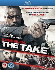 THE TAKE Idris Elba BLURAY in Inglese NEW .cp