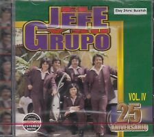El Jefe y Su Grupo 25 Aniversario Vol 4 CD New