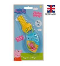 PEPPA PIG CAR KEYS Peppa's Electronic Sounds Toy Childrens Xmas Stocking Filler