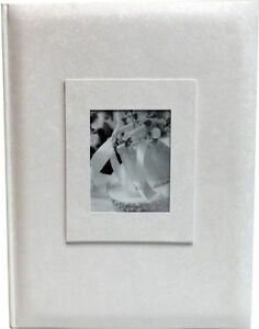 "White Bi-Directional Archival Photo Album - 300 Photos - 4""x6"" size"