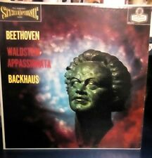 BACKHAUS beethoven waldstein LONDON LP VG++ CS 6161 FFss UK BB WB 1E/1E