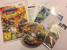 NINTENDO Wii RACE GAME SKYLANDERS SUPERCHARGERS RACING SOFTWARE CD COMPLETE+ PAL