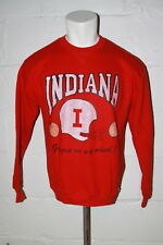 VTG Russell Indiana Hoosiers Football Peach Bowl Crewneck Sweatshirt Sz L Large