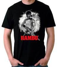 Camiseta Hombre Rambo Stallone cine movie t-shirt - camiseta manga corta chico