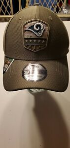 Los Angeles Rams NFL New Era Salute To Service 3930 stretch-fit hat M/L