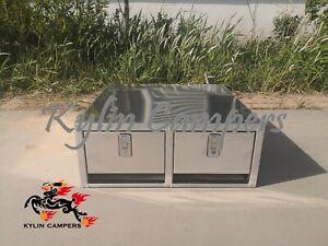 Ute Canopy Dual Drawer 800x800x310mm Aluminium Canopy Drawer insert