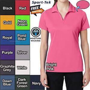 Sport-Tek Ladies Moisture Wicking Dri-Fit Performance Polo Shirt Dri Mesh XS-4XL