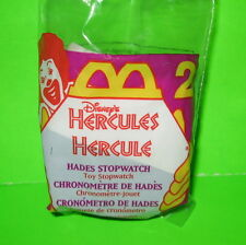 McDonald's Hercules Toy #2 Hades Stopwatch 1998 Disney Happy Meal MIP Free Ship