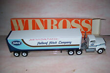 1988 Holland Hitch Company  Winross Diecast Delivery Trailer Truck