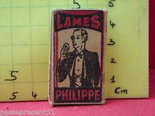 Ancienne boite  à lames de rasoir Philippe + 5 lames