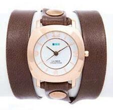 La Mer Mushroom w/ Gold Rivets Rose Gold Odyssey Wrap Watch