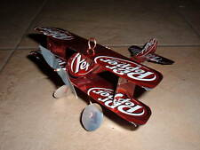 DR PEPPER Plane Airplane Made from Real Dr Pepper cans