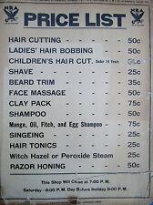 Vintage M. Louis Salon Ladies Beauty Shop Photo Sign HAIRDO HISTORY 100 YRS.
