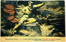 Cartolina Marina - Opera Nazionale Di Patronato Per Le Navi Asilo, Edizione A Be