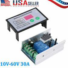 30A Battery Charge Control Module Over-discharge Protection 10-60V New