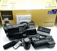 Sony NEX-EA50UH NXCAM Professional Camcorder + 18-55mm Lens, 32GB, Mic, 160hrs!!