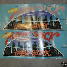 Serie Adesivi Scocche Fianchetti Cofani Posteriore Piaggio Vespa PX PE NEW-YORK