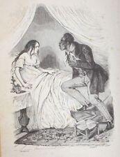 ✒ Antony THOURET Toussaint le mulâtre 1834 GRANDVILLE EO rare ALCHIMIE cocu