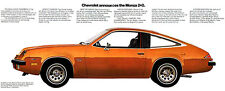 1975 Chevrolet Monza 2+2 - Promotional Advertising Poster