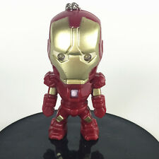 NEW iron Man Light Up LED Torch With sound Keyring KeyChain TOYS UKYS123