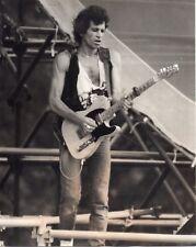 THE ROLLING STONES KEITH RICHARDS PHOTO 1982 VINTAGE UNIQUE IMAGE UNRELEASED GEM