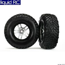 Traxxas 6892R Slash Assembled Glued (S1 Compound) Tires/Wheels (2) 12mm Hex