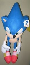 "Sonic the Hedgehog Large Plush 17"" Blue Sonic Plush Doll-New with tags!"
