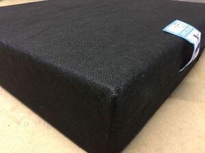 WHEELCHAIR PRESSURE RELIEF CUSHION SEAT PAD Memory Foam Waterproof Vinyl Cover