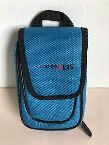 """Power A Nintendo 3DS Blue Padded Carry Case 8"""" x 5"""""""