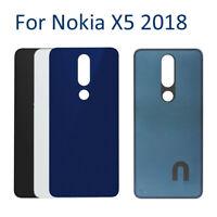 Couvercle Arrière Back Battery Cover Replacement Pour Nokia X5 2018 5.1 Plus