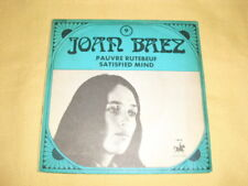 Joan Baez ‎– Pauvre Rutebeuf ‎45 RPM 7'' Single Series volume 9