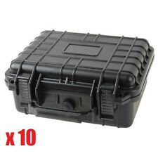 "(10x) 10"" Marine Weatherproof Dry Box Case iPhone Camera Gun W Pelican 1200 Foam"