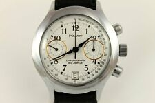 RARE Russian POLJOT 3133 Mechanical Chronograph  23 J Wrist Watch 1970's