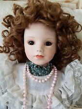 Porcelain Katrina Doll 1st Issue in Beautiful Dreamers Collection Gaby Rademann