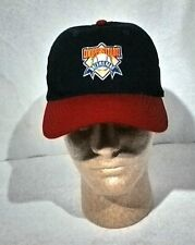 Cooperstown Dreams Park Blue Red Baseball Hat/Cap Metal Slide One Size FIts All