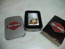 ZIPPO ACCENDINO LIGHTER FEUERZEUG HARLEY DAVIDSON BORN OF PRIDE VERY RARE NEW